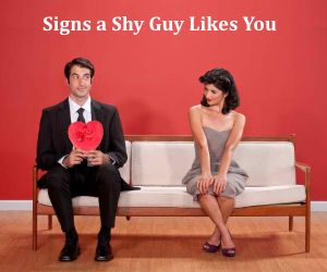 how to get a super shy guy to like you