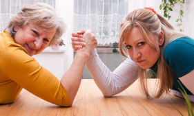 dealing with mother in law problems